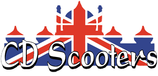 CD Scooters logo