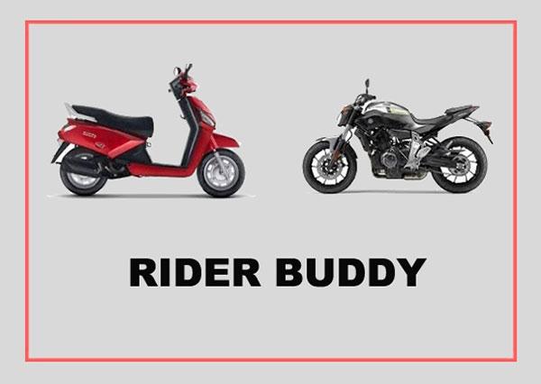 Rider Buddy Feature